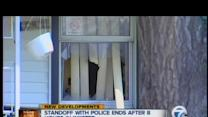 Standoff with police ends after 8 hours in Inkster