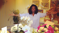 Oprah Jokes Tyler Perry Hurt Her Back!