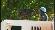 U.N. peacekeeper killed in clashes in Central African Republic's capital