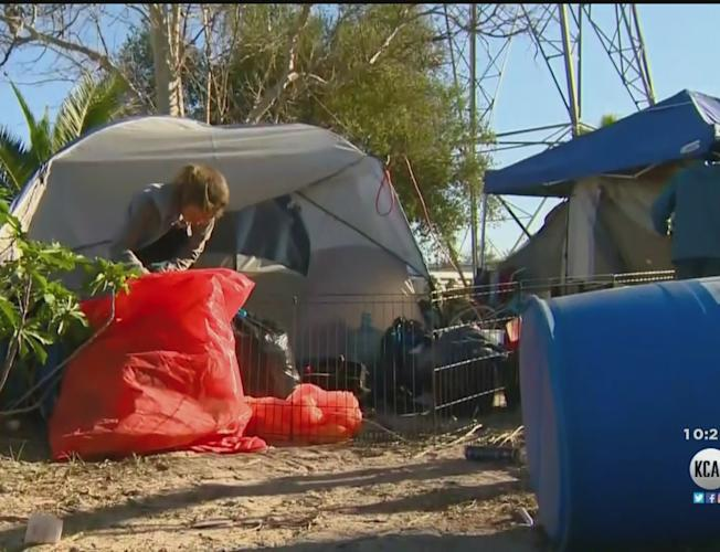 Fullerton Police To Begin Enforcing Anti-Camping Ordinance Next Week