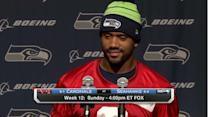Seattle Seahawks QB Russell Wilson on facing Arizona Cardinals defense