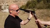 Mark Kelly visits Napa, draws attention for gun bill