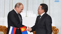 Putin Hails Soviet Victory Over Japan In Courting Mongolia