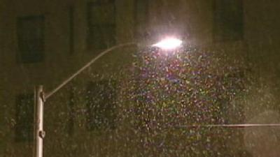 Snow Crews Get Early Start -- As In October