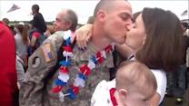 Mommy Minute: Soldier Meets Newborn Daughter For First Time