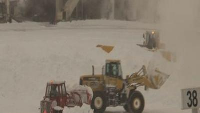 Raw: Boston Digs Out From Storm