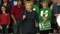 Clinton: 'I will not make promises I can't keep'