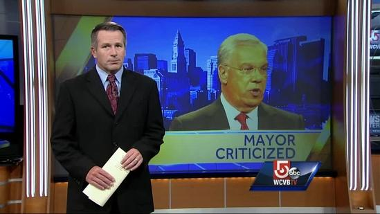 Menino accused of 'dumping' police contract on council