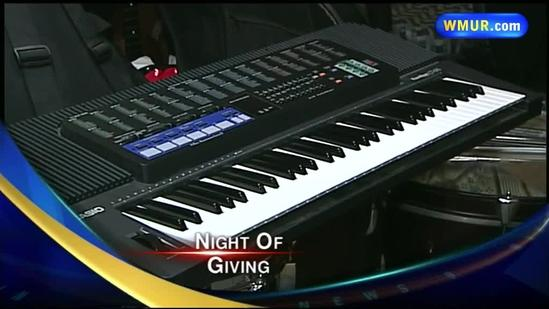 Barry Manilow Musical Instrument Donations