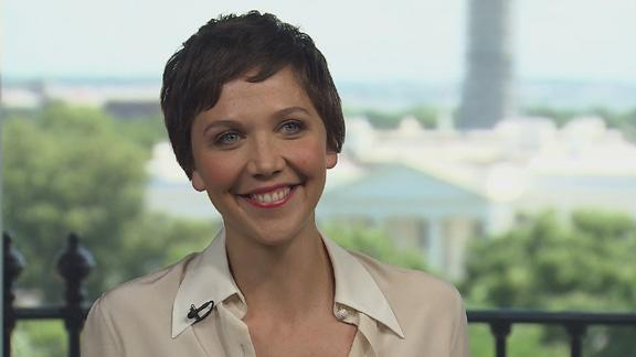 Maggie Gyllenhaal On Working With Jamie Foxx In White House Down: He's 'My Favorite!'