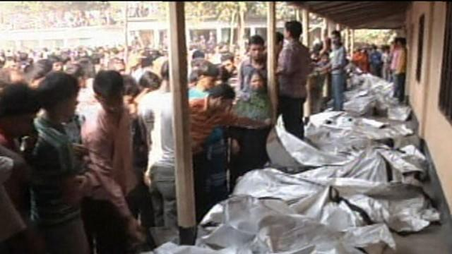 Fire Kills Over 100 Factory Workers in Bangladesh