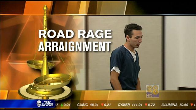 Driver accused of road rage on Coronado Bridge