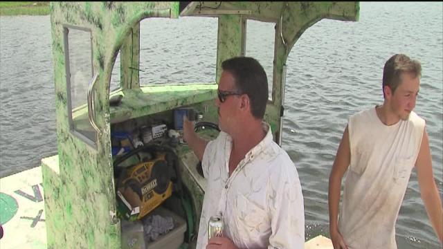 Man treads water in Gulf for 22 hours