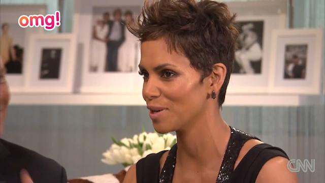 Halle Berry talks about being pregnant at 46