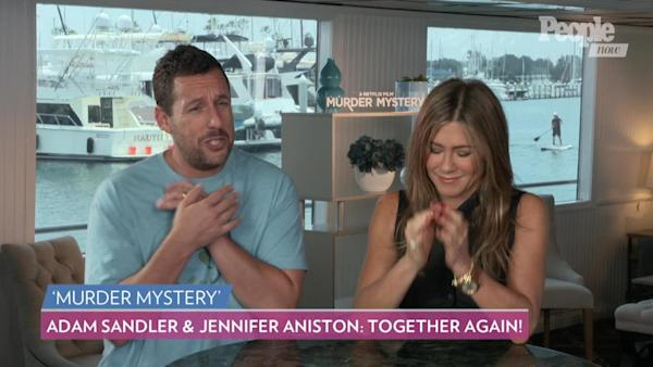 Adam Sandler Tells Jennifer Aniston to Make a Friends Reboot: 'For