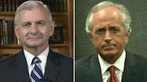 Sens. Corker, Reed talk US response to turmoil in Egypt