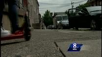 News 8 revisits fatal stabbing scene one year later