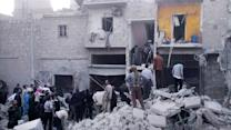 Report: 25 killed in chemical attack in Syria