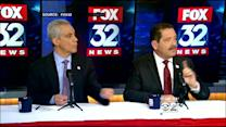 Emanuel, Garcia Meet, Clash During Second Debate