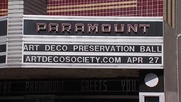 Paramount Theater honored at Preservation Ball