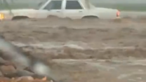 Heavy Rains Cause Flash Flooding in Arizona