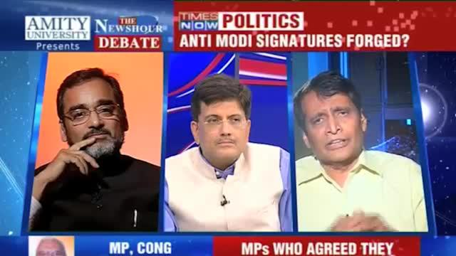Debate: Anti Modi signatures forged? - 2