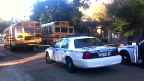 4-year-old hit by school bus