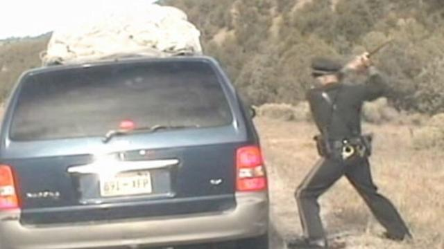 Chaos Erupts After Police Pull Over Minivan Filled With Kids