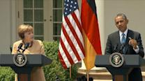 President Obama, Angela Merkel Hold News Conference