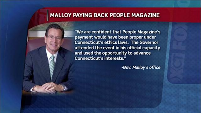 Governor Repays People Mag For Correspondent`s Dinner Trip