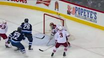 Blake Wheeler collects and scores past Smith