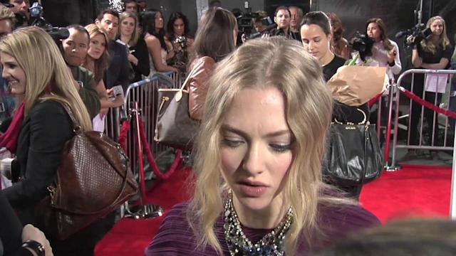 Amanda Seyfried Weighs in on Her Breast Size