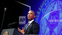 Obama Defends Handling of Veterans Issues