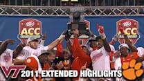Clemson vs. Virginia Tech: 2011 ACC Championship Extended Highlights