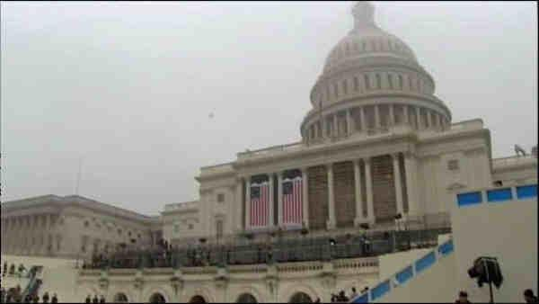 Inaugural pomp and circumstance saved for Monday