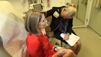 Katie Couric gets heart-checked