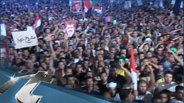 Egypt Breaking News: Morsi's Supporters Take to the Streets