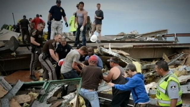 Rescue Workers Search Oklahoma Homes Multiple Times