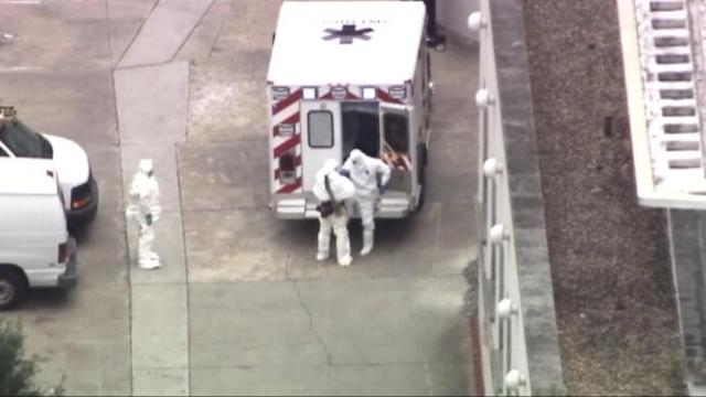 Ebola-infected American 'glad to be back' in U.S/