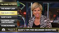 Suze Orman's three tips for beginning investors