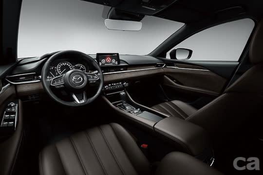 圖二:All-new Mazda6的車室空間提供兼具視