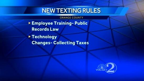 New texting rules during public meetings to be adopted in Orange County