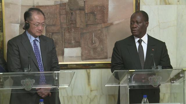 New World Bank chief starts Africa tour in Ivory Coast