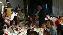 Pampering homeless mothers