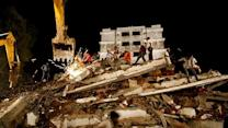 Around the World: Building collapse kills dozens near Mumbai