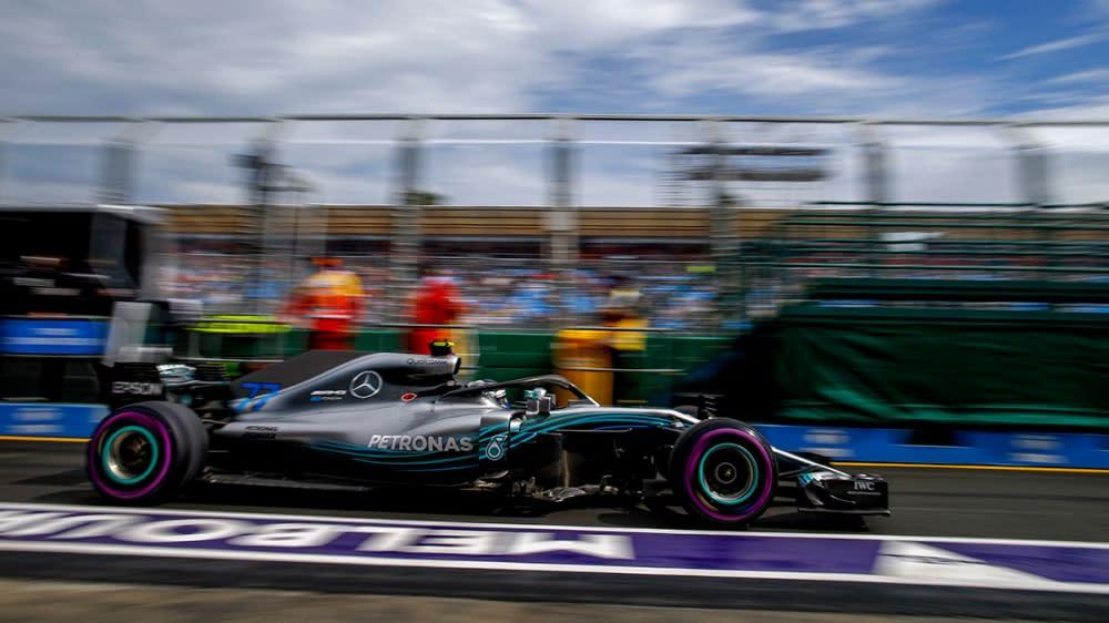 排位賽撞車毀變速箱Bottas遭罰退五位