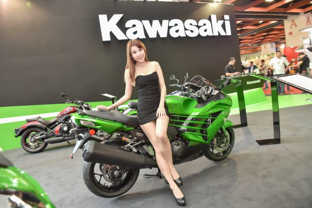 2017 KAWASAKI NINJA1000、Z650 現身台北車展