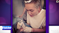 Tuesday Was Tattoo Day for Miley Cyrus