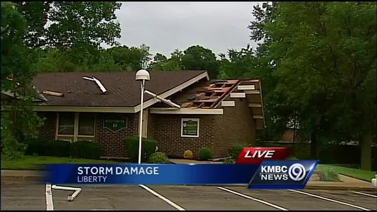 Weather Service to survey Liberty damage
