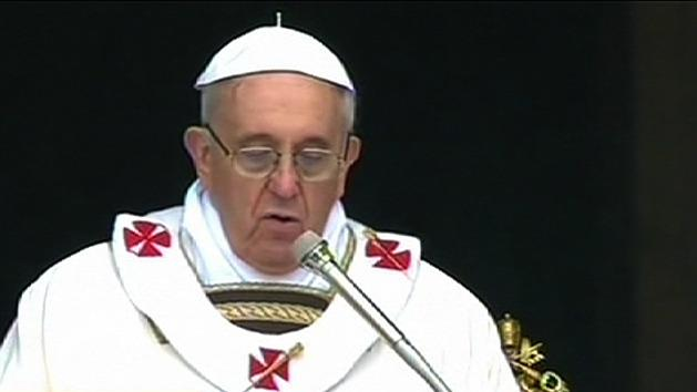 Pope prays for abuse victims